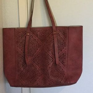 New, Reversible Laser- cut Tote.  (Nordstrom's)